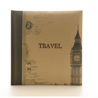 Kenro London Traveller Memo Style Photo Album. Holds 200 6x4