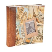 Kenro Euro Traveller  Memo Style Photo Album. Holds 200 6x4