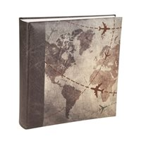 Kenro Global Traveller  Memo Style Photo Album. Holds 200 6x4