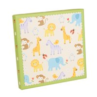 Baby Zoo series Memo Photo Album 120 6x4 in box Green. Code: KB301GN