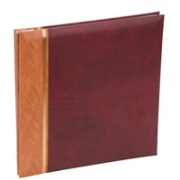 Grace Red Traditional Style Photo Album 29x32cm 100pgs Code: KD103RD