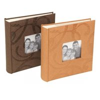 Sonata Modern Memo Style Photo Album Dk Brown 200 6x4