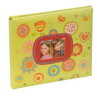 Festival Scrapbook Style Photo Album Green 20x20cm 20 pgs Code: SCR101GN