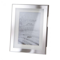 luxury polished silver frames, delicately finished with a recessed ivory mount. Luxury black velour backs. Choice of FOUR SIZES (4x6'', 5x7'',6x8'', 8x10'').  Comes in gift box .  Bulk Order Discounts Available
