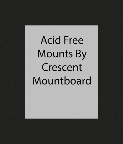 Black Bevelled Mounts. Black Core. Acid Free. Available in 44 sizes from 4x6