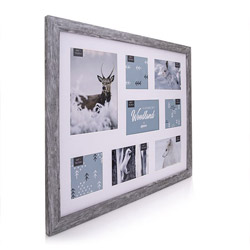 Kenro's Harmony Woodland Frame Collage for 8 photos. 1 x 8x6