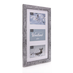 Kenros Harmony Woodland Triple Photo Frame for 5x7