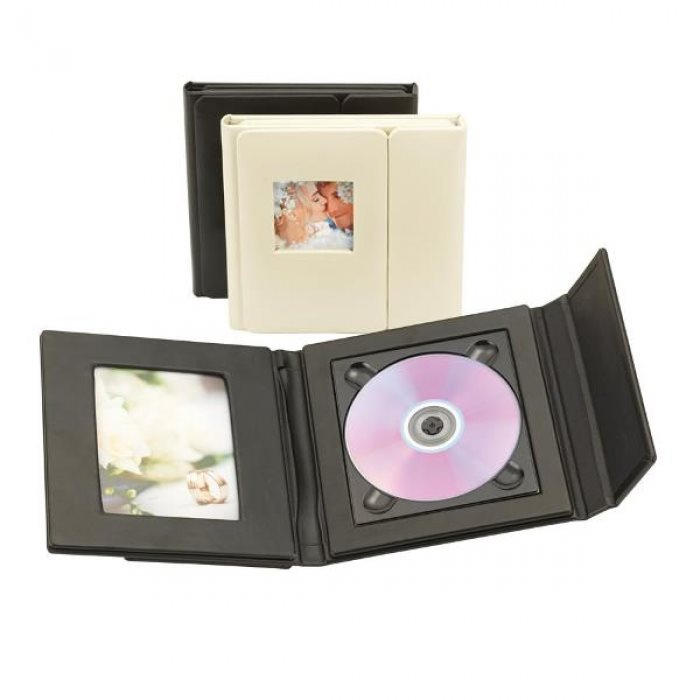 Signature CD Folio Black 1 CD / DVD Code: CDF01B