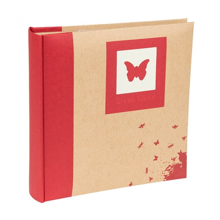 Greenwood Memo Style Photo Album Butterfly 200 6x4