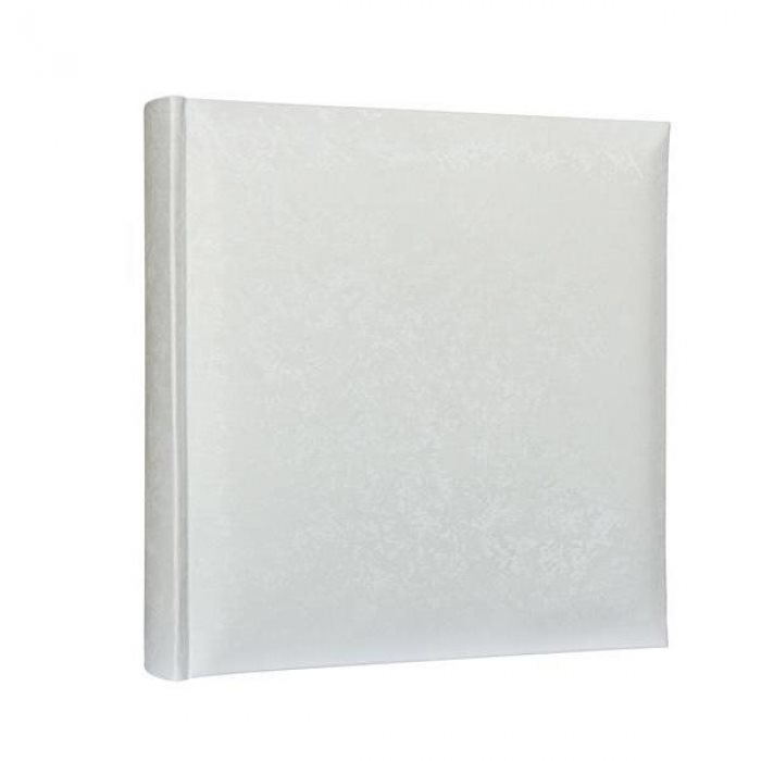 White Satin Traditional Style Photo Album 32x27.5cm 100pgs Code: KD108