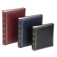 Grafton Memo Style Photo Album Blue 200 5x7