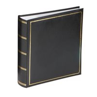 Grafton Memo Style Photo Album Black 200 7x5