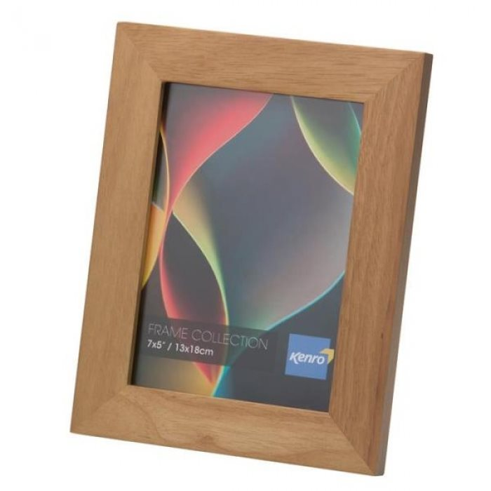 A2 / 42x59.4cm Rio Light Oak Crafted Wood Picture Frame in Solid Rubber Wood. Wood Stain Finish.  Flat Profile: 30mm Wide x 20mm deep. Online Bulk Order Discounts Starting at 6 units