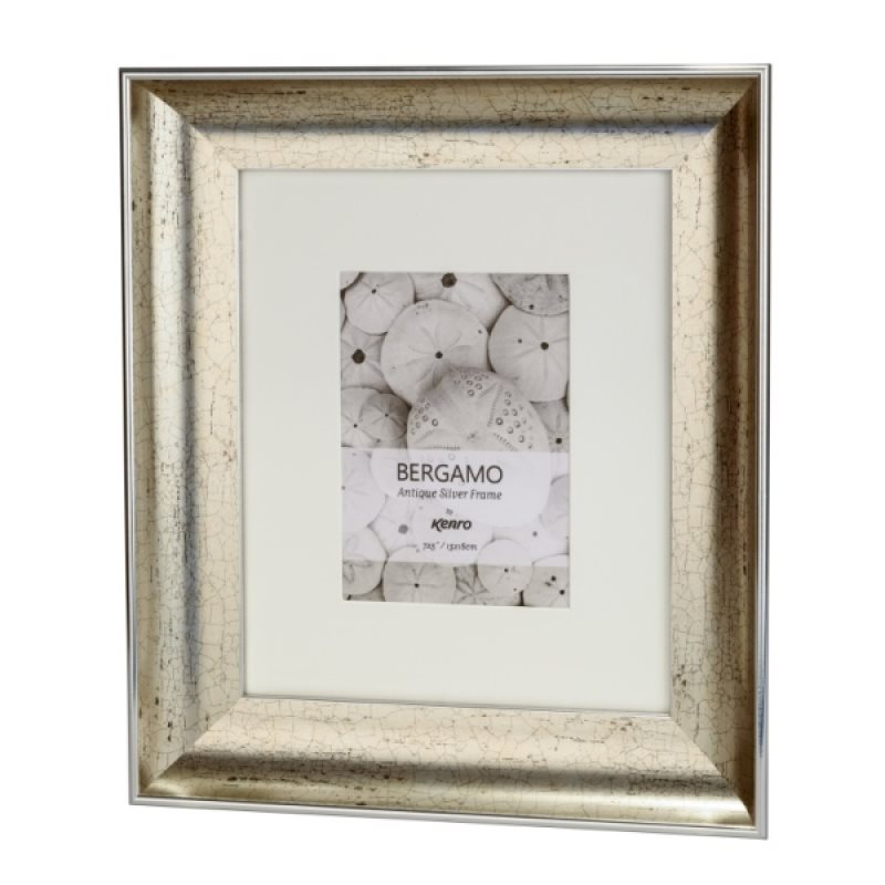BERG2025S: Bergamo Antique Silver Picture Frame |Kenro Ireland