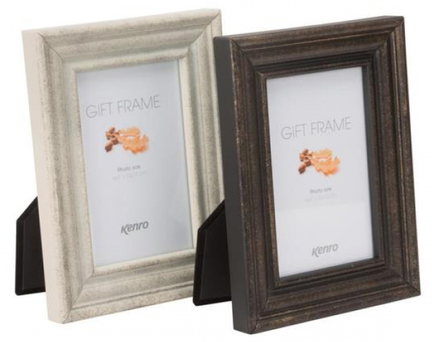 Distressed finish metal frames, manufactured in steel available in black or white. luxury black velour backs. Individually gift boxed. .  Bulk Order Discounts Available