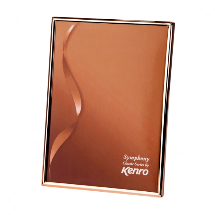 Symphony Classic Copper finish Series Frame.   Choice of FOUR SIZES (4x6'', 5x7'',6x8'', 8x10''). Comes in Gift Box .  Bulk Order Discounts Available