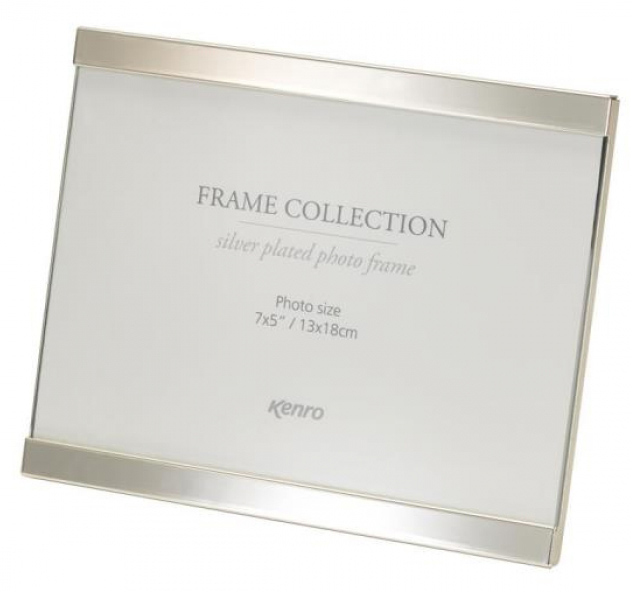 Symphony Style Frame Silver Plated, Tarnish Resistant with Luxury Velour Backing.  Individually Gift Boxed.   .  Bulk Order Discounts Available
