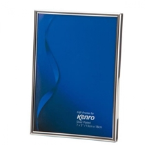 Symphony Classic Frame.  Silver-plated, tarnish-resistant .  Luxury Velour Backing.  Individually Gift Boxed.  Choice of TEN PHOTO Sizes .  Bulk Order Discounts Available
