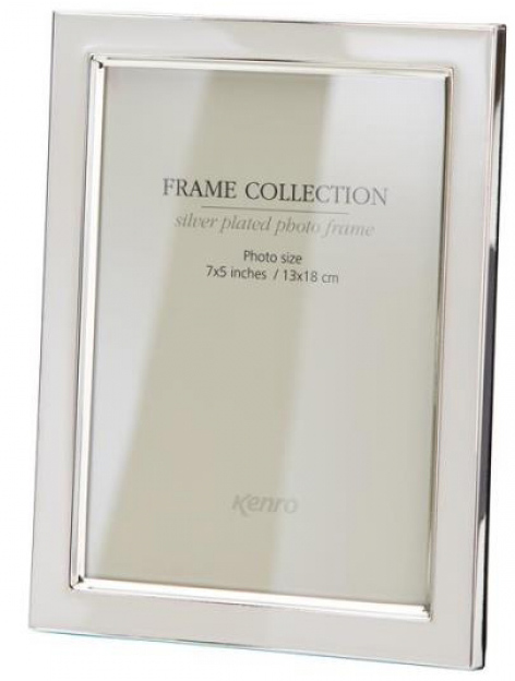 Classic style Grey metal frames with a tarnish resistant silver plated border, finished with black inlays.  Choice of FOUR SIZES (4x6'', 5x7'',6x8'', 8x10'').  Comes in Gift Box.  .  Bulk Order Discounts Available