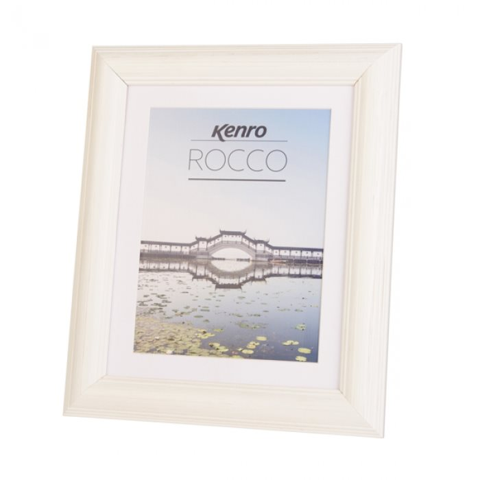 RC1015WH: Rocco White Photo Frame|Kenro Ireland
