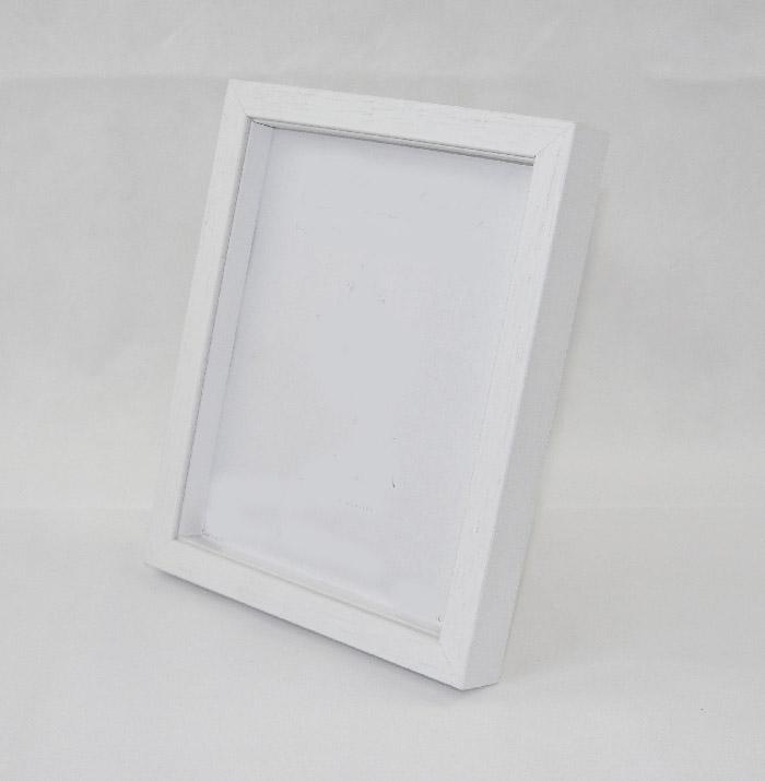 Shadow Box Frame Wood White