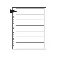 Negative File Pages 35mm Paper - pack of 25      Code: KNF08