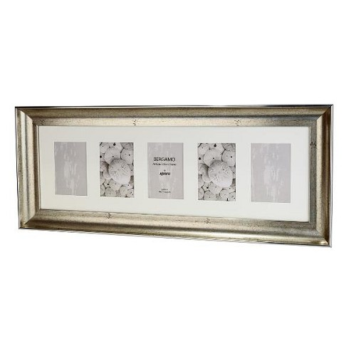 BERG1015S-5: Bergamo Antique Silver Photo Frame|Kenro Ireland