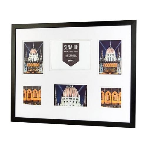 SNF4050B-6: Senator Black Collage Frame|Kenro Ireland