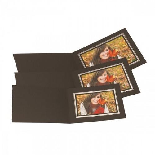 Black Studio Folder Cardboard Picture Frame Black Photo Folder