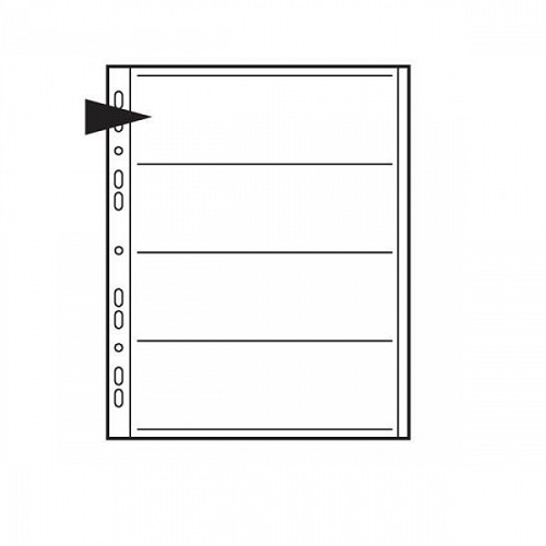 Negative File Pages 120mm Paper - pack of 100       Code: KNF14